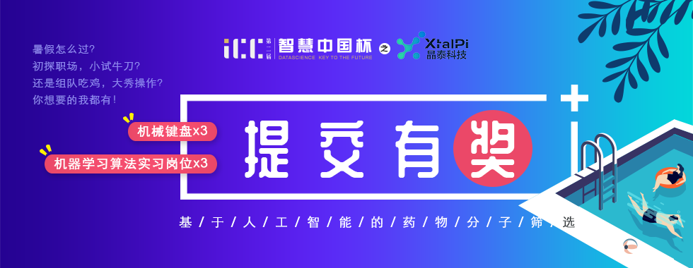第二届智慧中国杯(ICC)基于人工智能的药物分子筛选